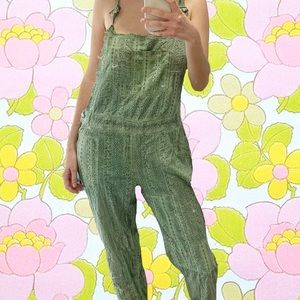 Free People dungarees/overalls. Size medium.